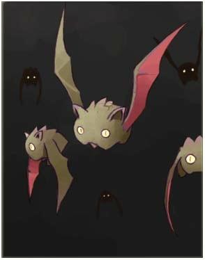 红蝙蝠卡片