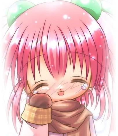 谁有动漫美少女哭泣图片