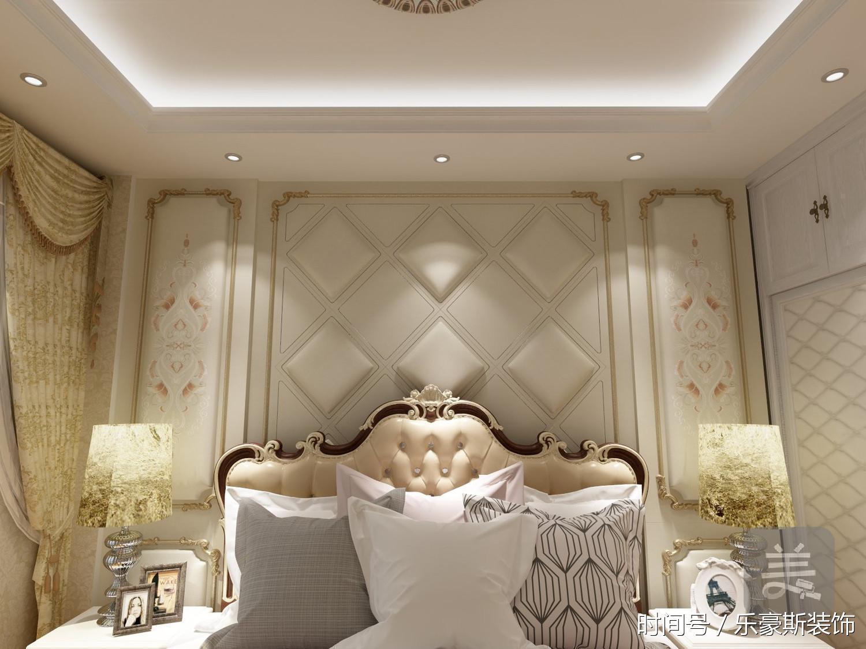 大连三室两厅欧式风格装修-轻装修重装饰