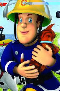 消防员山姆全集海报壁纸 小小救生队桌面背景图片