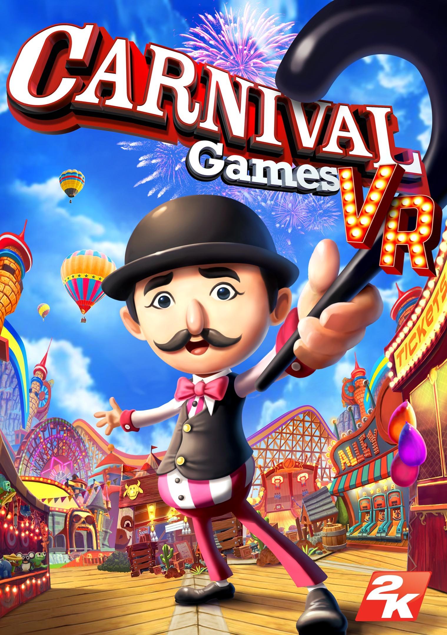 VR游戏《嘉年华VR》10月发售