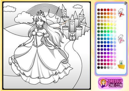城堡儿童画图片大全; 儿童公主城堡画