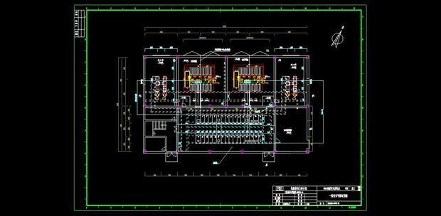 配电室高压柜一次接线图