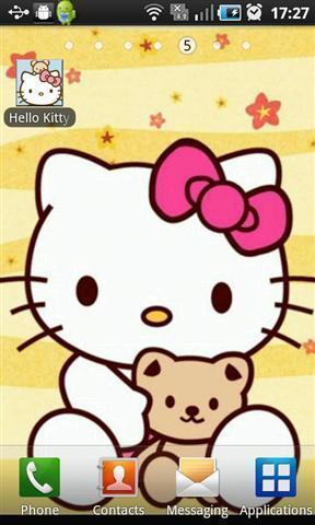 凯蒂猫套图手机壁纸