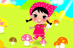 采蘑菇滴小姑娘,采蘑菇滴小姑娘小游戏,360小