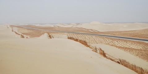 塔克拉玛干沙漠公路