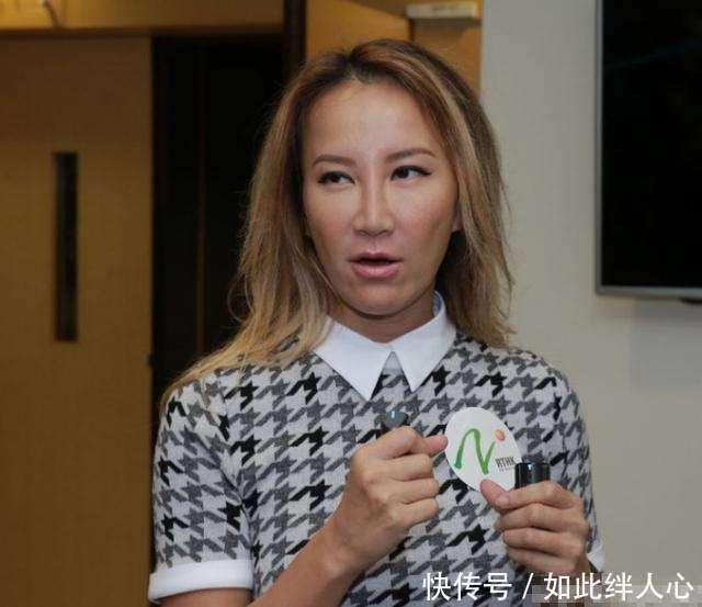 42岁李玟素颜出席活动, 皮肤松弛鼻子塌陷, 网友: 后遗症爆发了?图片