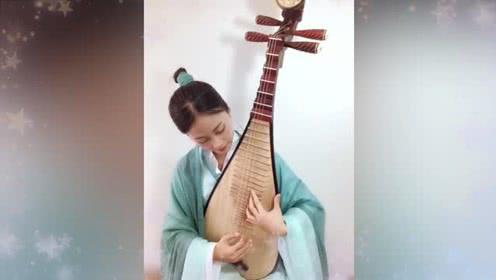 【魔道音乐馆】没听够我们琵琶小姐姐演奏的《问琴》下半段为您献上!
