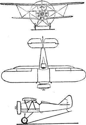 飞机平面图简笔画