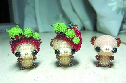 这是串珠小动物的图片