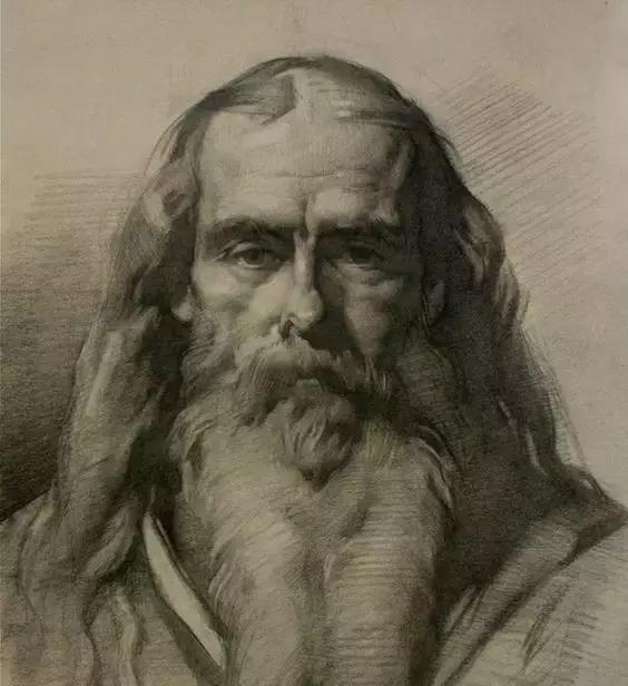 俄罗斯素描画家怎么处理素描关系 ART 第7张