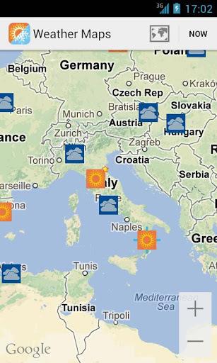 天气地图截图1
