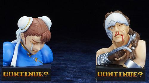 Capcom推街霸2失败模型手办