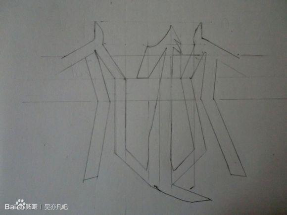 exo吴亦凡的标志怎么画