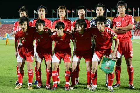 中国足球队vs马里队_中国国家男子u22足球队