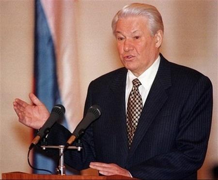 叶利钦(1931_2007年,俄罗斯首任总统,充满争议的政治人物)