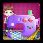 裁缝衣服的女孩游戏